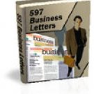 597 Ready To Use Sales Letters and Business Form eBook