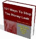 Stop The Money Leak  101 Different  Ways eBook
