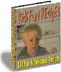 Kids Fun Recipes eBook