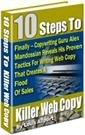 10 Easy Steps To Killer Web Copy eBook