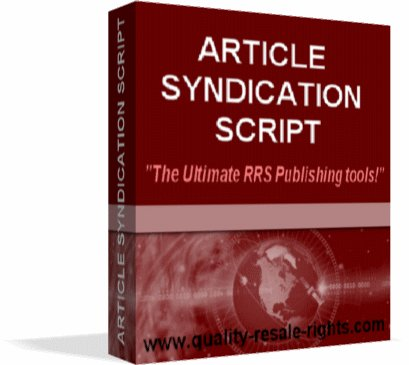 Article Syndication Script