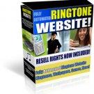 PHP Ringtone Website