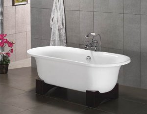 Hakone ASIAN INSPIRED FREE STANDING BATHTUB FAUCET Large Bath Tubs