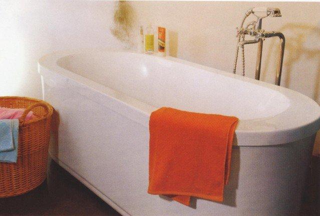 Ryslip MODERN FREE STANDING BATHTUB FAUCET Large Bath Tubs