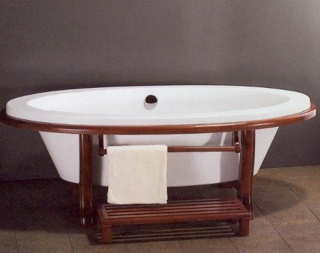 FUJI ASIAN INSPIRED FREE STANDING BATHTUB FAUCET Bathtubs Large Bath Tubs