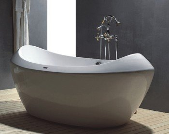 Athens CONTEMPORARY SOAKER FREE STANDING BATHTUB bathtubs faucet