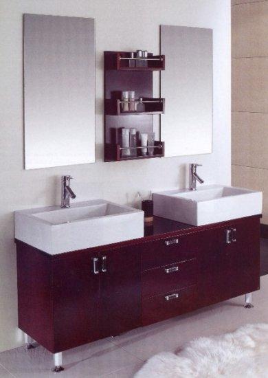 Bathroom Vanity Set Dual Sink Cabinet faucets bathtubs