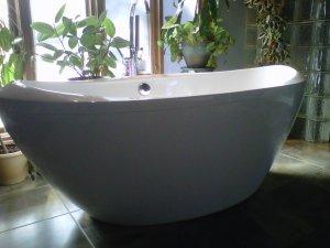 Alexander MODERN FREE STANDING BATHTUB & FAUCET bath tubs