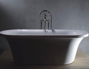 M-1099 Large Free Standing Bathtub & Faucet
