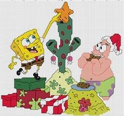 Spongebob & Patrick Christmas
