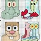 Spongebob - Mini Stockings