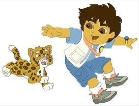 Diego & Baby Jaguar