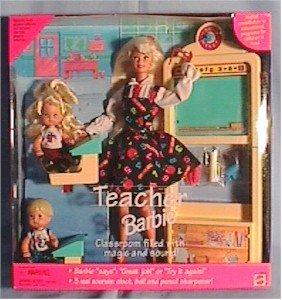 Teacher Barbie Doll  1995 No Panties