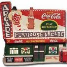 COCA COLA Funhouse Arcade Town Square Fiber Optic