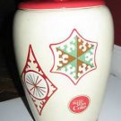 Coke Coca Cola Ceramic Cookie Jar 2007 Gift Set (A)