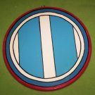 KOREAN WAR PLAQUE ROUND 12 INCHES MILITARY INSIGNIA