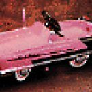 HALLMARK KIDDIE CAR CLASSICS--PINK KIDILLAC