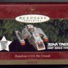 HALLMARK STAR TREK DS 9--RUNABOUT U S S RIO GRANDE