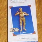 C 3PO STAR WARS HALLMARK ORNAMENT 2005