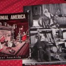 COLONIAL AMERICA LOT OF 32 PICTURES VISUAL TEACHING