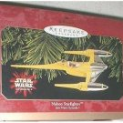 NABOO FIGHTER ORNAMENT 1999 HALLMARK STAR WARS