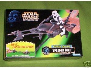 SPEEDER BIKE, POWER RACING NIB Star wars