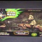 LUKE SKYWALKER and SPEEDER BIKE, HUGE TARGET EXCLUSIVE