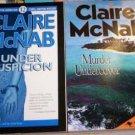 Murder Undercover & Under Suspicion by Claire McNab