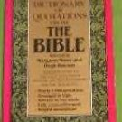 A Dictionary of Quotations from the Bible miner/rawson