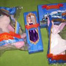 Burger King Anastasia, Pooka, Bartok, Train Set