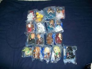 Burger King Star Wars Complete the Saga Full Set