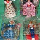 Mcdonalds Barbie International 5 with Under 3 Toy