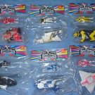Mcdonalds Power Rangers with Zords set of 6