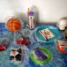 McDonalds 1992 Michael Jordan Fitness Fun set of 8
