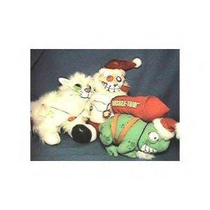CHRISTMAS MEANIES BEANBAGS, Bean Bag Plush