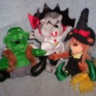 Halloween Meanies, Set of 3
