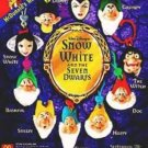 Snow White and the Seven Dwarf Clip-ons Snow White key chains, full set