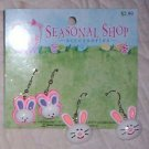 Easter Earrings 2 Pair Bunnys