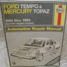 Ford Tempo Mercury Topaz 1984-94  1994