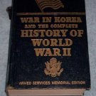 War in Korea and the Complete History of WW II  1959