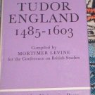 Tudor England 1485-1603 by Mortimer Levine (1968) VG
