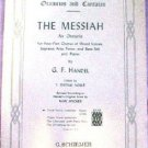 Schirmer's Oratorios Cantatas The Messiah 4-Part Chorus