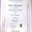 Schirmer's Oratorios Cantatas The Messiah 4-Part Chorus