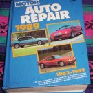 Motor's Auto Repair Manual 1983-1989 FORD, LINCOLN MERC