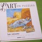 L'ARTen PUZZLES  LES SAISONS