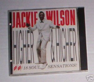 JACKIE WILSON, HIGHER AND HIGHER 1986 CD OOP RARE!! (A)