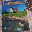 Lighthouses of Michigan by John Penrod (1998) NEW