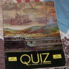 QUIZ ON RAILROADS AND RAILROADING  1946 4th ed