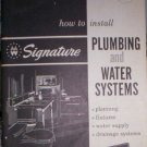 HOW TO INSTALL PLUMBING AND WATER SYSTEMS  DIY