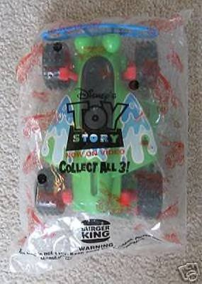 TOY Story - On Video Burger King ~ Large R C figure